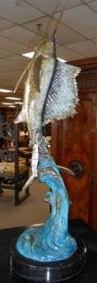Wide Variety of Bronze Ocean &  Marine Life We have a wide Variety of Bronze Ocean & Marine Life. Please contact us today for current inventory and sale prices.