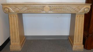 "Art Deco Console Table Art Deco Console Table. Stands 35"" tall x 57"" wide x 17"" deep. Serious inquires Please contact us. Click on Picture to see additional photos."