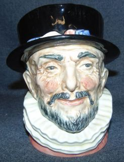 "Royal Doulton Toby Mug Beefeater #6206 Large Royal Doulton Toby Mug ""Beefeater"" #6206. Measures 6-1/2"" tall. Condition is very good. Excellent. No Damage. Starting Bid $30. Auction Estimate $30 - $40."