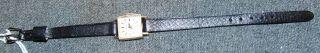 Vintage Ladies Tiffany & Co. 14K Gold Watch Vintage Ladies Tiffany & Co. 14K Gold Watch with Leather Band.