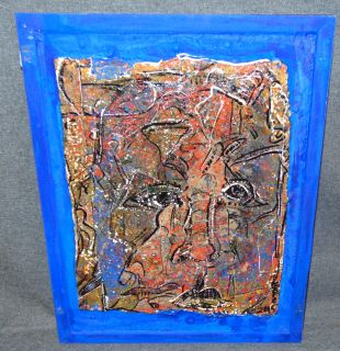"""Original Contemporary Oil Painting by Alexander Gore Original Oil Painting by Russian Artist """"Alexander Gore"""". Oil on Masonite. Titled """"Y & Z of a Living Form"""". Artist signed and Dated 2015. Frame measures 15"""" tall x 12"""" wide. Includes Certificate of Authenticity. Condition is Excellent. No Damage. Several Shipping Options Available. Starting Bid $60. Auction Estimate $70 - $90."""