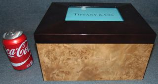 """Burl Wood Jewelry Box  Jewelry Box. Measures 12"""" wide x 9-1/2"""" deep x 6-1/2"""" tall. Overall condition is Excellent. No Damage. Several Shipping Options Available. Starting Bid $80. Auction Estimate $90 - $100."""