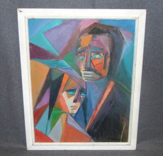 "Original Oil Painting by Florence Krieger (1919-2011) Original Oil on Canvas Painting by Listed Artist Florence Krieger (1919-2011). Frame measures 25-1/2"" tall x 20-3/4"" wide. Condition is good. No Damage. Florence Krieger is a well listed and exhibited Brooklyn artist who worked in a variety of mediums. Recipient Purchase award Art Students League, 1965, Salmagundi Club prize, 1980, Knicherbocker Artists award, 1988. Member Allied Artists American, Catherine Lorillard Wolfe Art Club, American Artist Professional League, Knickerbocker Arts, National Art Club, Riverside Museum. Starting Bid $300. Auction Estimate $350 - $450."