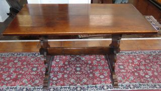 """Rustic Trundle Table Rustic Trundle Table. Measures 29-1/2"""" tall x 50"""" wide x 26-1/2"""" deep. Overall condition is good. Wear consistent with age and use. Some surface scratches. Several Shipping Options Available.  Serious inquires Please contact us. Click on Picture to see additional photos."""