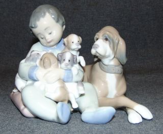 "Lladro #5456"" New Playmates Lladro #5456"" New Playmates. Issued in 1988 and retired in 2004. Measures 5"" tall. Condition is Mint. No Damage. Properly marked on bottom. Several Shipping Options Available. Starting Bid $50. Auction Estimate $100 - $150."