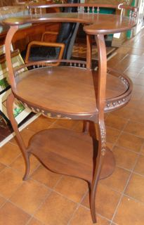 """Antique 3 Tier Etegere' Antique 3 Tier Etegere'. Measures 41-1/2"""" tall x 24-1/2"""" wide x 19"""" deep. Condition is Excellent. No Damage. Several Shipping Options Available. Starting Bid $50. Auction Estimate $100 - $150."""