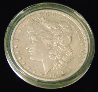 Morgan US Silver Dollar 1896-o Morgan US Silver Dollar. Low Mintage. Dated 1896-o. Circulated. In House, Flat Rate Shipping on this item is $11.50. Insurance included. Starting Bid $40. Auction Estimate $50 - $60.
