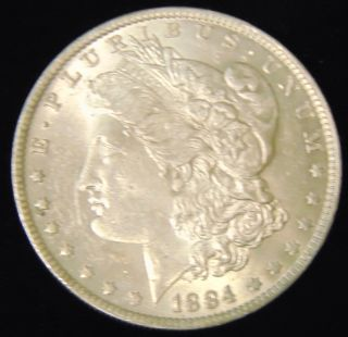 Morgan US Silver Dollar 1884-o Morgan US Silver Dollar. Dated 1884-o. Circulated. In House, Flat Rate Shipping on this item is $11.50. Insurance included. Starting Bid $20. Auction Estimate $50 - $60.