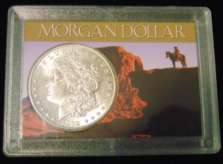 Morgan US Silver Dollar 1902-o Morgan US Silver Dollar. Dated 1902-o. Circulated. In House, Flat Rate Shipping on this item is $11.50. Insurance included. Starting Bid $20. Auction Estimate $60 - $70.