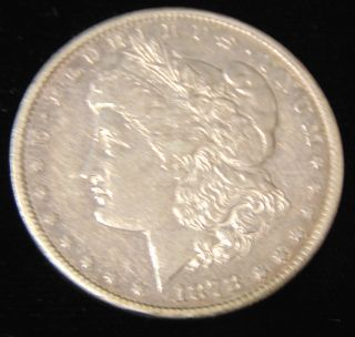 Morgan US Silver Dollar 1878-cc Morgan US Silver Dollar. Dated 1878-cc. Circulated. In House, Flat Rate Shipping on this item is $11.50. Insurance included. Starting Bid $40. Auction Estimate $120 - $150.