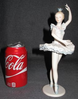 "Cybis Porcelain ""Cynthia"" Figurine Cybis Porcelain ""Cynthia"" Figurine. Measures 9-1/2"" tall. Condition is Excellent. Mint. No damage. Starting Bid $20. Auction Estimate $20 - $100."