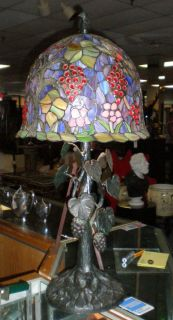 Beautiful Selection of Stained Glass Table Lamps We have a huge selection of Stained Glass Table and Floor Lamps. These are samples. Please contact us for current inventory and Sale prices.