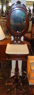 Antique Victorian Shave Stand