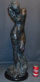 """Venus"" Bronze Sculpture Auguste Rodin Awesome Bronze Sculpture of Venus on a Black Marble Base after Auguste Rodin (1840-1917).  She measures 31"" tall. Condition is New, Mint. No Damage. This Sculpture is made entirely from Bronze and Marble. Several Shipping Options Available. Starting Bid $500. Auction Estimate $600 - $750."